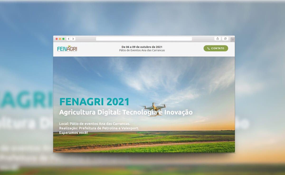 Mockup site fenagri 2021